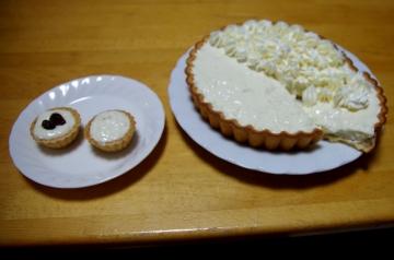 Gelatin-cheesecake
